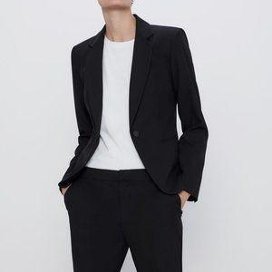 Zara Basic Black  Blazer Jacket